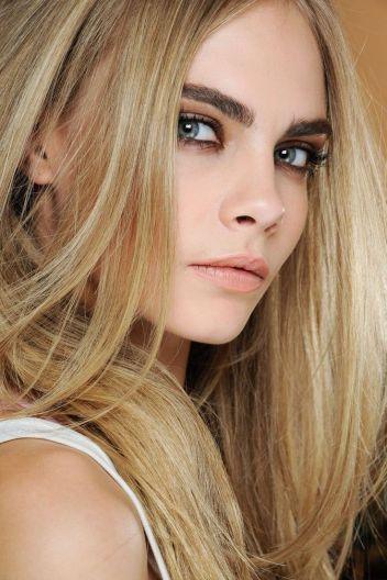 Cara delevigne - natural makeup
