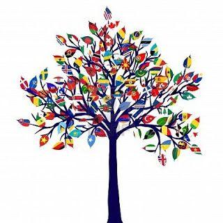 flag trees