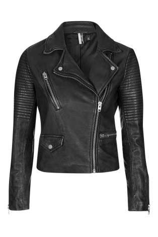 leather jacket top shop
