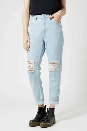 ripped jeans top shop