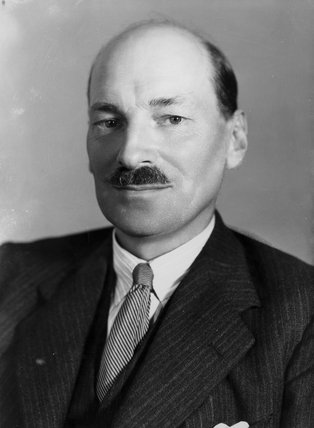 clement attlee - pinterest