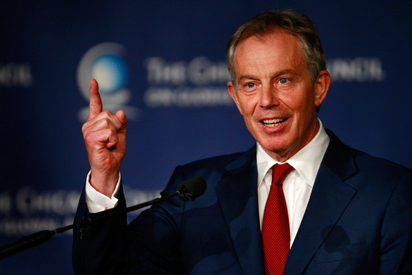tony blair - ben norton